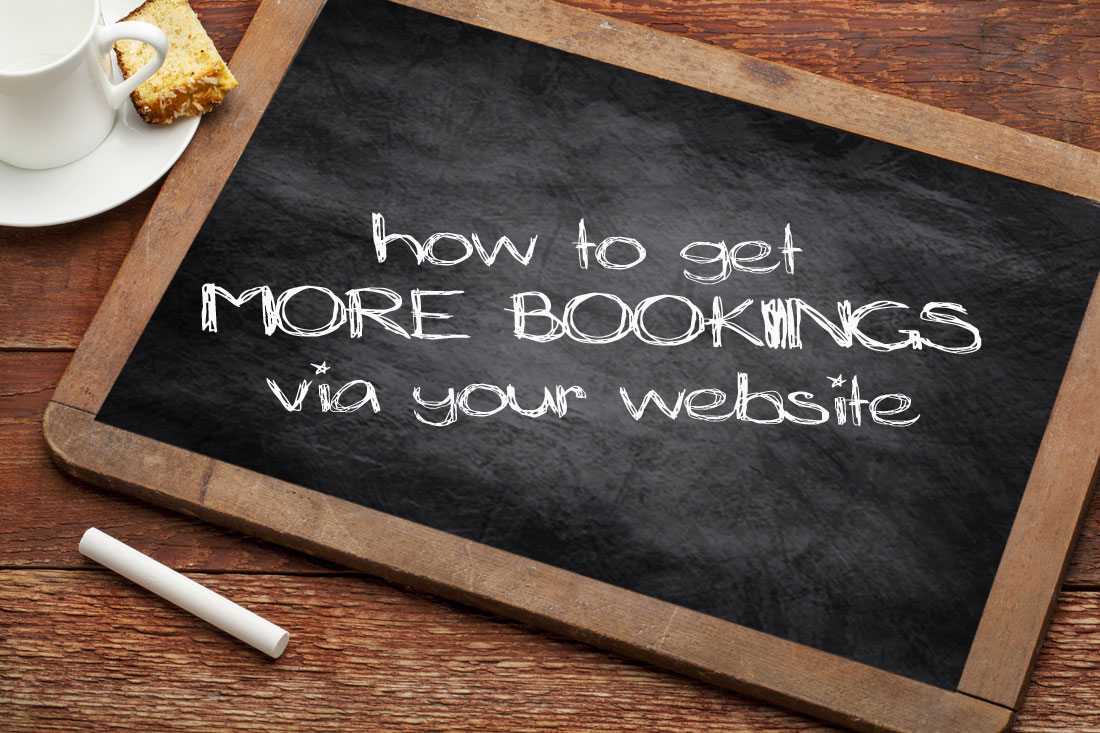 How to get more bookings via your website