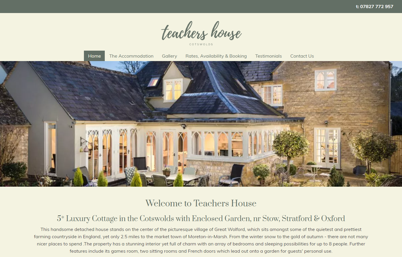 The Teachers House (Self Catering) - Cotswolds